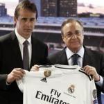 Lopetegui y Pérez. Foto: Real Madrid.