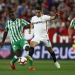 Jugadores de Sevilla y Betis / as.com.