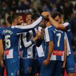 RCD Espanyol, celebrando un gol / twitter