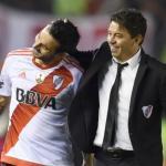 La espinita que Scocco nunca se podrá quitar con River Plate. Foto: Olé