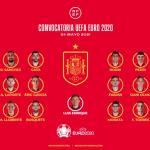 Los 24 jugadores con los que España irá a la Eurocopa