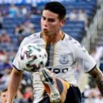 Everton: Rafa Benítez le confirma a James que no cuenta con él