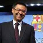 Bartomeu en una rueda de prensa / Barça