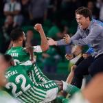 """El memorable gesto de Fekir con su entrenador """"Foto: El Desmarque"""""""