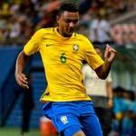 Luan Cándido, con la selección de Brasil / CBF.