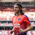 Filipe Luis, con el Atlético / twitter