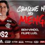 Filipe Luis refuerza el proyecto del Flamengo / Flamengo