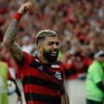 Gabigol celebrando un gol con el Flamengo. / copalibertadores.com