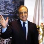 Florentino, en un acto oficial del Real Madrid / twitter