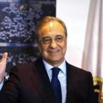 Florentino Pérez, en un acto del Real Madrid / twitter.