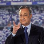 Florentino Pérez en una rueda de prensa / Real Madrid