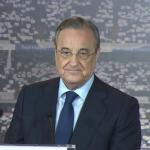 Florentino Pérez, presidente del Real Madrid. Foto: Youtube.com