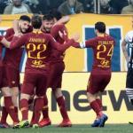 El AS Roma celebra un gol / Youtube