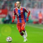 Franck Ribery durante un partido con el Bayern. Foto: Youtube.com