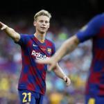 Frenkie de Jong no termina de arrancar en el Barcelona