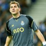 Casillas, durante un partido (FC Oporto)