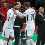 Llorente y Kane (Tottenham)