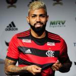 Gabigol, con el Flamengo / twitter