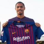 Gabriel, el día de su fichaje (FC Barcelona)