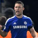 Gary Cahill con la camiseta del Chelsea en un partido. Foto: Express.co.uk