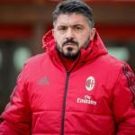 Gattuso, en un entreno / acmilan.com