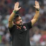 Gennaro Gattuso, técnico del Milán. Foto: Beinsports.com
