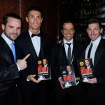 Jorge Mendes, con Cristiano Ronaldo (Gestifute)