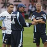 Raúl, Ronaldo, Queiroz y Beckham (Getty)