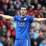 Iborra en un partido con el Leicester / Getty