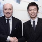 Giuseppe Marotta y Steven Zhang. Foto: Inter.it