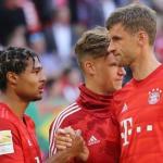 Gnabry sale en defensa de Muller / Eurosport.de