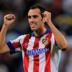 Godin en el Atlético de Madrid / Atlético