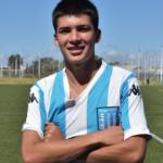 """El FC Barcelona va a por Gonzalo Sosa, una joya juvenil de Racing Club """"Foto: Racing de Alma"""""""