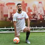 Las gratas sensaciones de Dabbur tras su llegada al Sevilla / Twitter