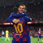 """El necesario """"gobierno de coalición"""" entre Messi y Griezmann"""