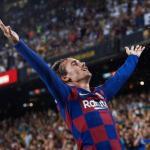 La primera gran noche de Griezmann en el Camp Nou. FOTO: FC BARCELONA