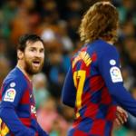 """¿Qué pasa entre Griezmann y Messi? """"Foto: AS"""""""