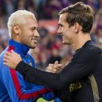 Los dos hombres del verano en Can Barça. Foto: Cordon Press.