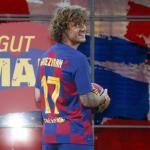 El motivo por el que Antoine Griezmann porta el '17' / FC Barcelona