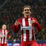 Griezmann celebra un gol con el Atleti (Atlético de Madrid)