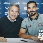 El Manchester City renuncia a Gundogan hasta 2023 / Twitter