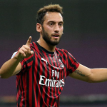 "El Inter de Milán le robó a Hakan Calhanoglu al AC Milan  ""Foto: Gazzetta dello Sport"""