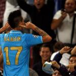 Marek Hamsik celebra un gol en San Paolo/lainformacion.com