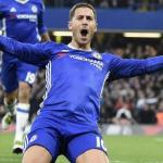 Hazard celebra un gol con el Chelsea (EFE)