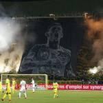 Homenaje de la afición del Nantes a Emiliano Sala. Foto: youtube.com