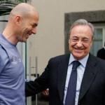 Zinedine Zidane y Florentino Pérez / Real Madrid.