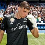 Andriy Lunin / Real Madrid.