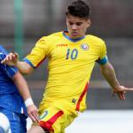 Ianis Hagi con la selección de Rumanía. Foto: SkySports
