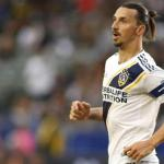 Ibrahimovic durante un partido con los Galaxy. / independent.co.uk