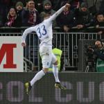 Hateboer celebrando un gol (EFE)